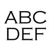 FONT 7