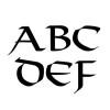 VIKING Font 7