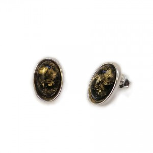 Amber Earrings | Sterling silver | Height - 16mm, Width - 10mm | Weight - 2,7g | ZD.1070SG