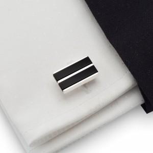 Onyx Cufflinks |  Sterling sillver | Onyx stone | ZD.37